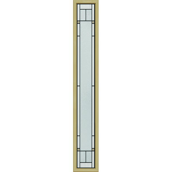 "ODL Topaz Door Glass - 10"" x 66"" Craftsman Frame Kit"