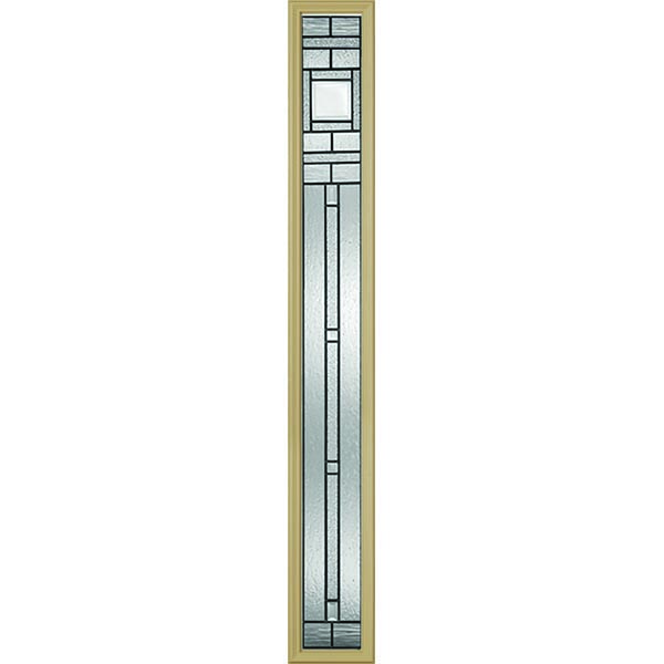 "Western Reflections Vintage Craftsman Door Glass - 10"" x 66"" Craftsman Frame Kit"