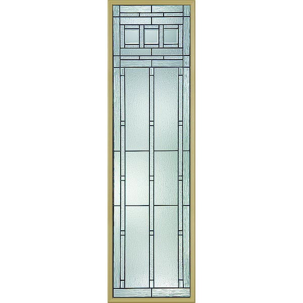 "Western Reflections Vintage Craftsman Door Glass - 24"" x 82"" Frame Kit"