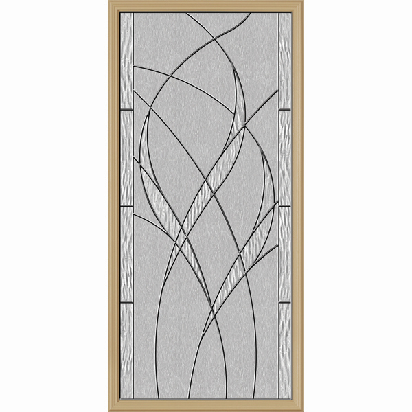 "ODL Destinations Door Glass - Waterside - 24"""" x 50"""" Frame Kit"