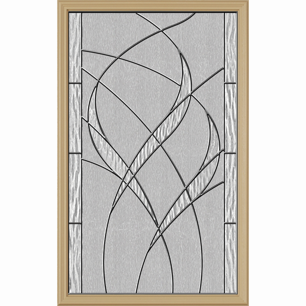 "ODL Destinations Door Glass - Waterside - 24"""" x 38"""" Frame Kit"