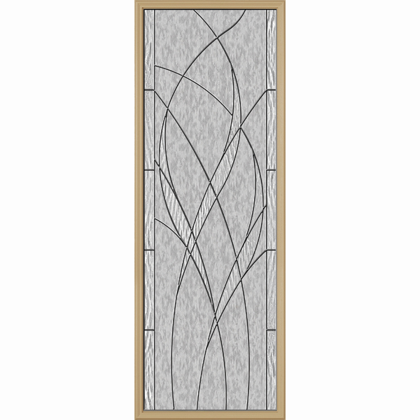 "ODL Destinations Door Glass - Waterside - 24"""" x 66"""" Frame Kit"