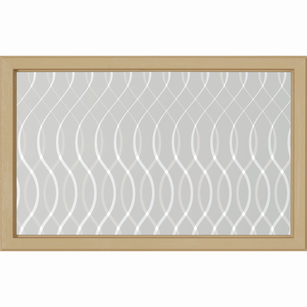 "ODL Destinations Door Glass - Whisper - 27"" x 17.25"" Craftsman Frame Kit"