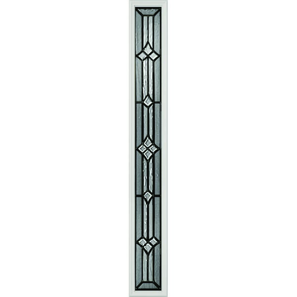 "Western Reflections Impact Resistant Windsor Door Glass - 9"" x 66"" Frame Kit"