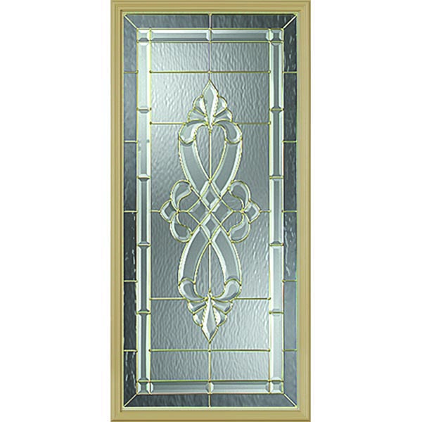 "Western Reflections Windsor Door Glass - 24"" x 50"" Frame Kit"