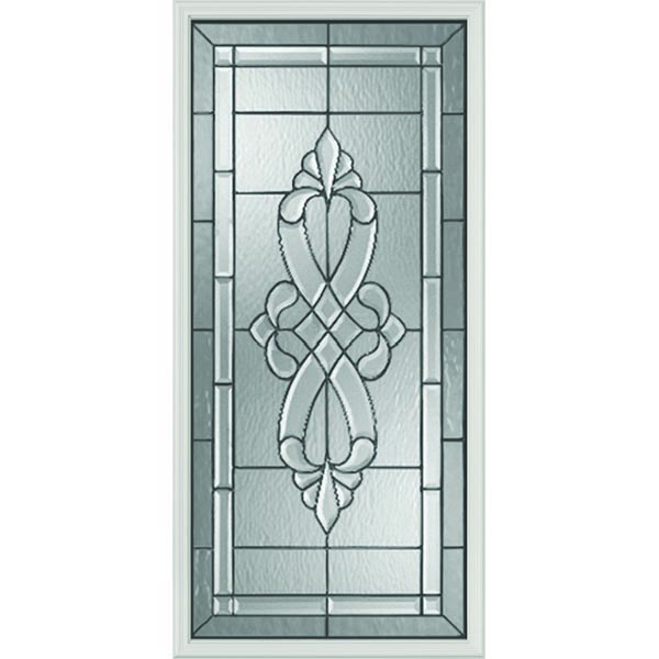 "Western Reflections Impact Resistant Windsor Door Glass - 24"" x 50"" Frame Kit"