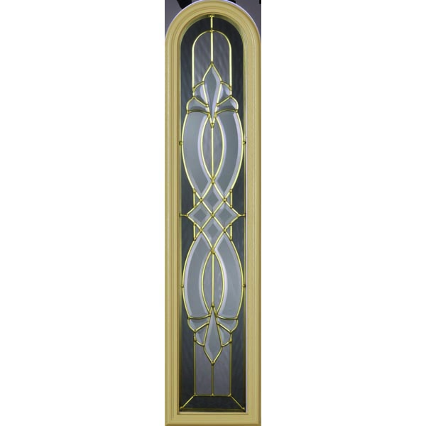 "Western Reflections Windsor Door Glass - 10"" x 44"" Frame Kit"