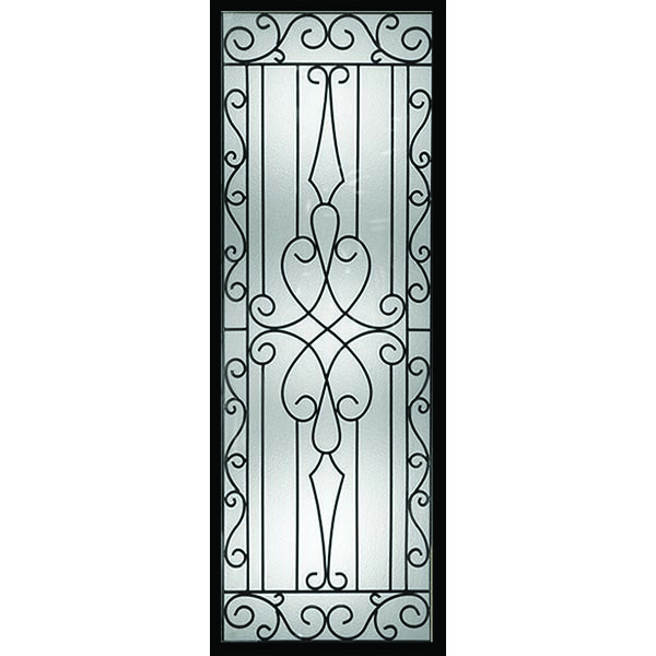 "Western Reflections Wyngate Door Glass - 22"" x 66"" Frame Kit"