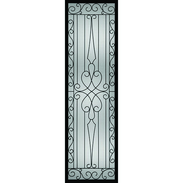 "Western Reflections Impact Resistant Wyngate Door Glass - 24"" x 82"" Frame Kit"