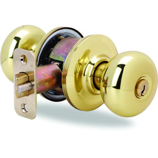 Yale-YH-Collection-Cambridge-Entry-Door-Knob-Polished-Brass