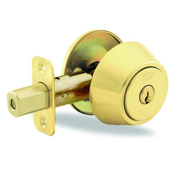 Yale-New-Traditions-800-Series-Double-Deadbolt-Polished-Brass