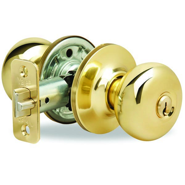 Yale-New-Traditions-Horizon-Entry-Door-Knob-Polished-Brass