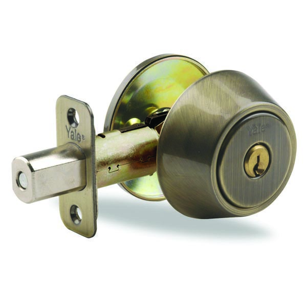 Yale-New-Traditions-800-Series-Single-Deadbolt-Antique-Brass