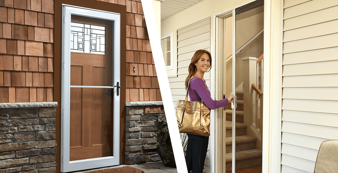 Rollaway Doors Retractable Screen Doors Amp Storm Doors