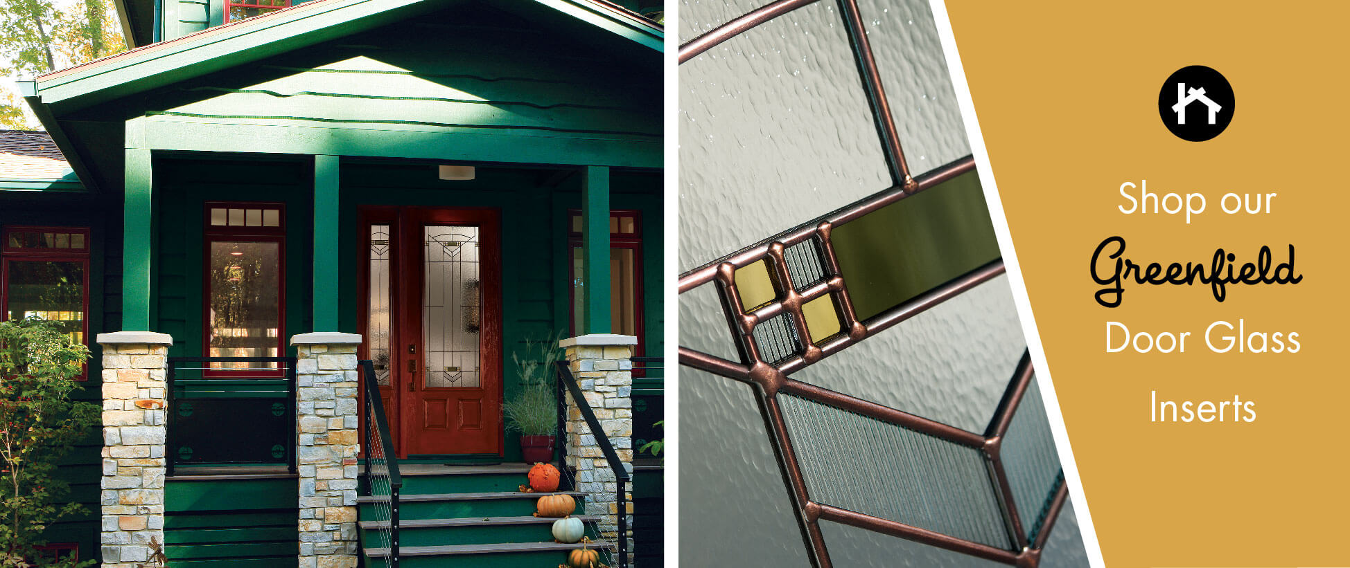 Craftsman Stained Glass Door Inserts Odl Greenfield Zabitat