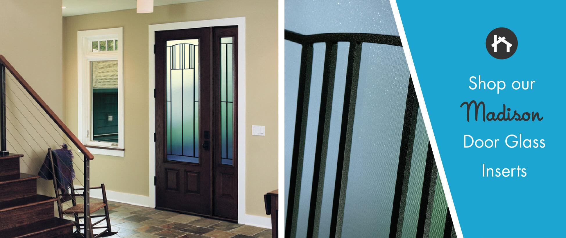 Craftsman Door Glass Inserts With Wrought Iron Odl Madison Zabitat