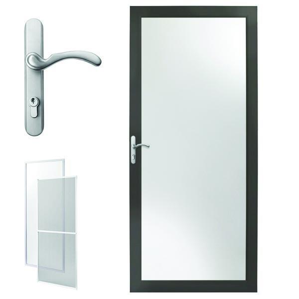 Andersen Storm Door 30 X 80 Bronze Interchangeable