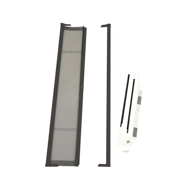 Odl brisa premium retractable screen kit for 80 in for Retractable screen door for outswing door