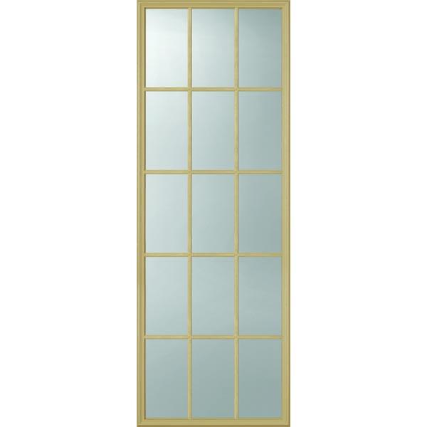Odl clear door glass 15 light external grille 24 x 66 for 15 lite door insert