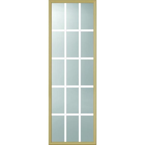 Odl clear door glass 15 light 7 8 internal grille 22 for 15 lite door insert