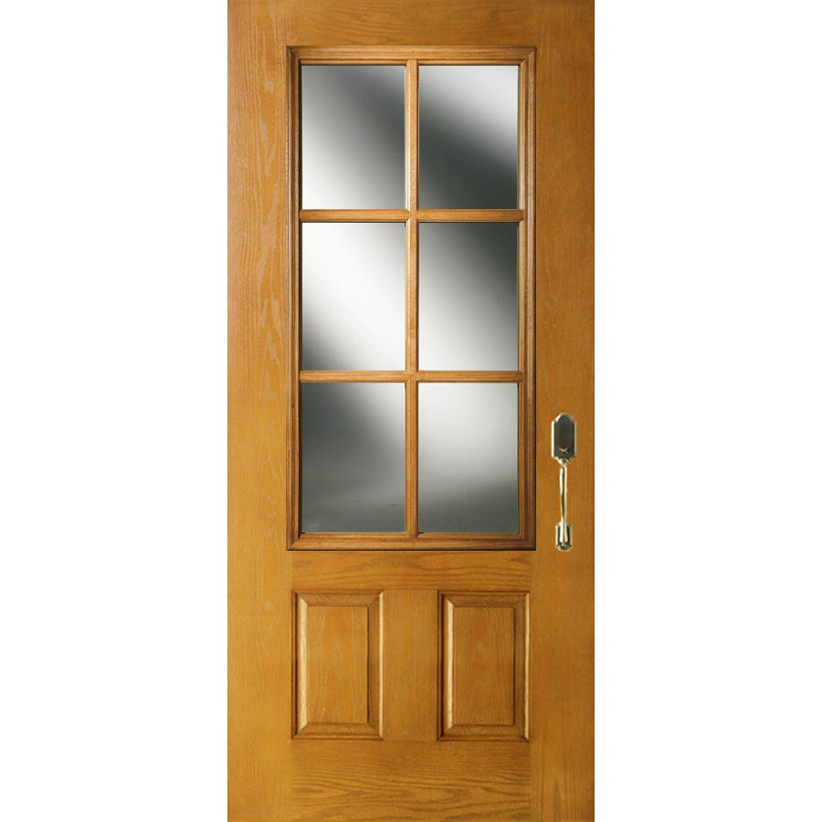 Low Glass Cabinet Odl Clear Low E Door Glass 6 Light 7 8 Simulated Divided Light