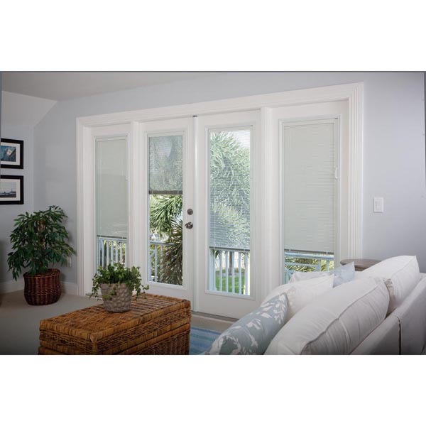 Odl Enclosed Blinds Patio Double Door Set Low E Glass