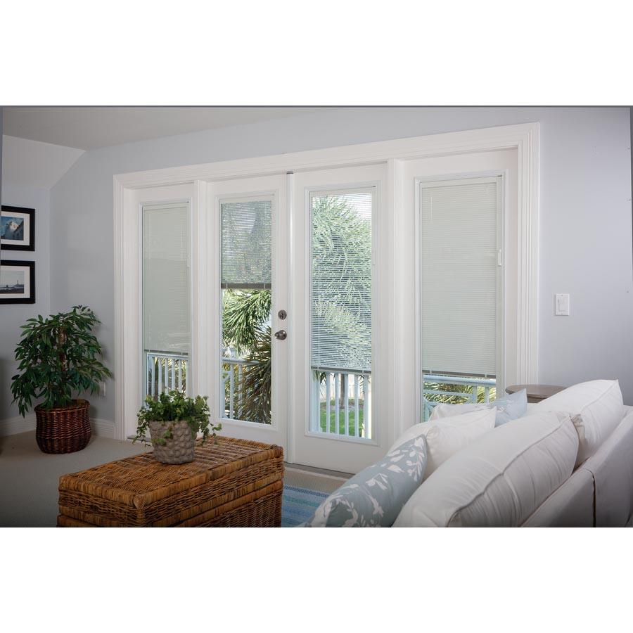 Odl Enclosed Blinds Patio Double Door Set Low E Glass