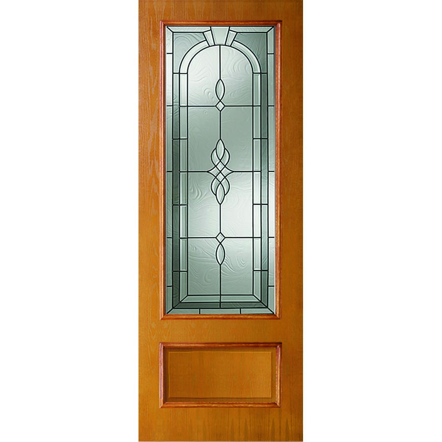 Western Reflections Fontana Door Glass 24 Quot X 82 Quot Frame