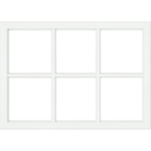 24 x 6 light craftsman frame set zabitat. Black Bedroom Furniture Sets. Home Design Ideas