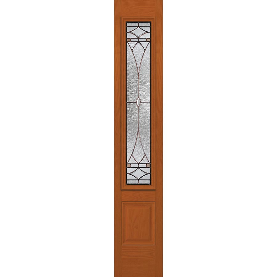 Western Reflections Hutton Door Glass 10 Quot X 50 Quot Frame