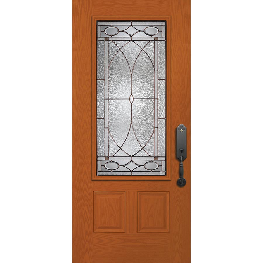 Western Reflections Hutton Door Glass 24 Quot X 50 Quot Frame