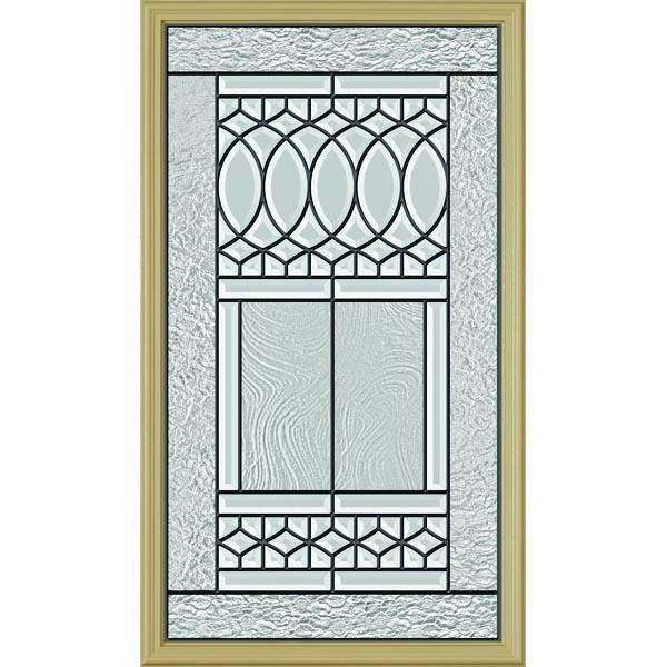 Odl paris door glass 22 x 38 frame kit zabitat - Odl glass door inserts ...