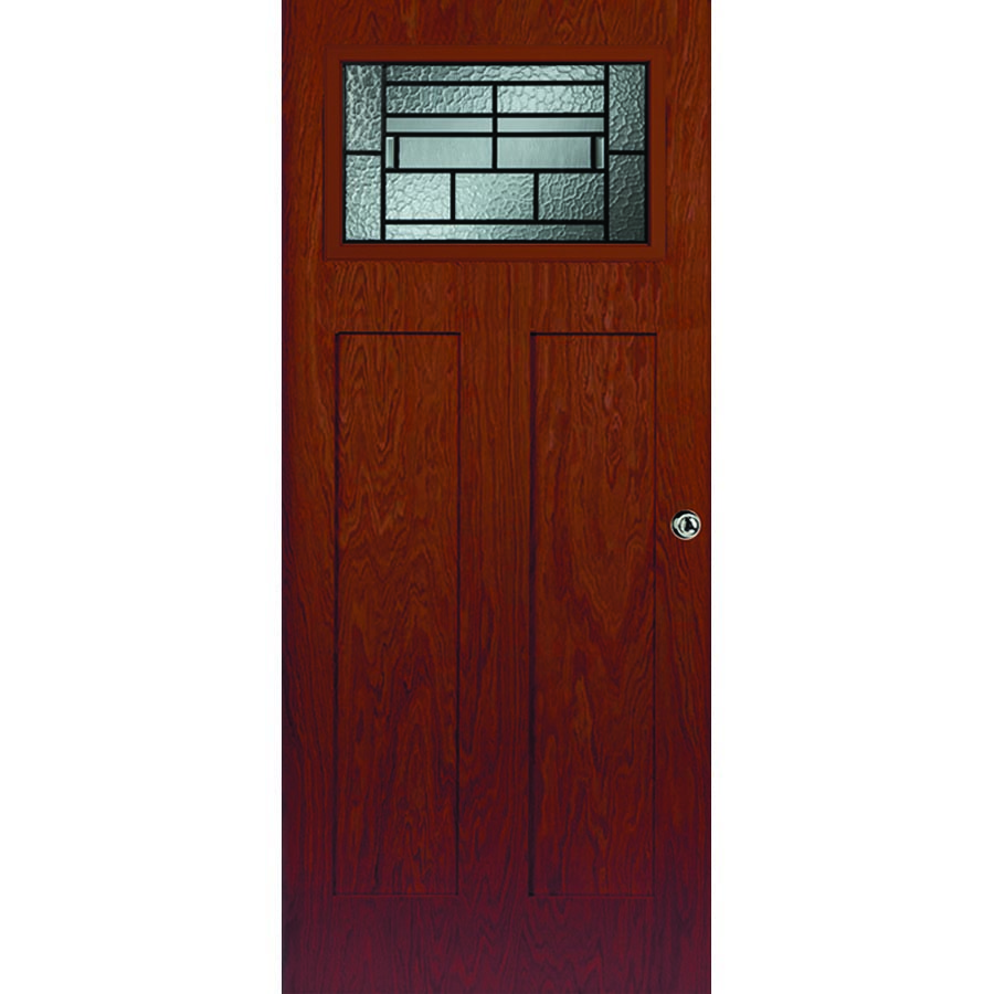 Western reflections pembrook door glass x for Craftsman frame