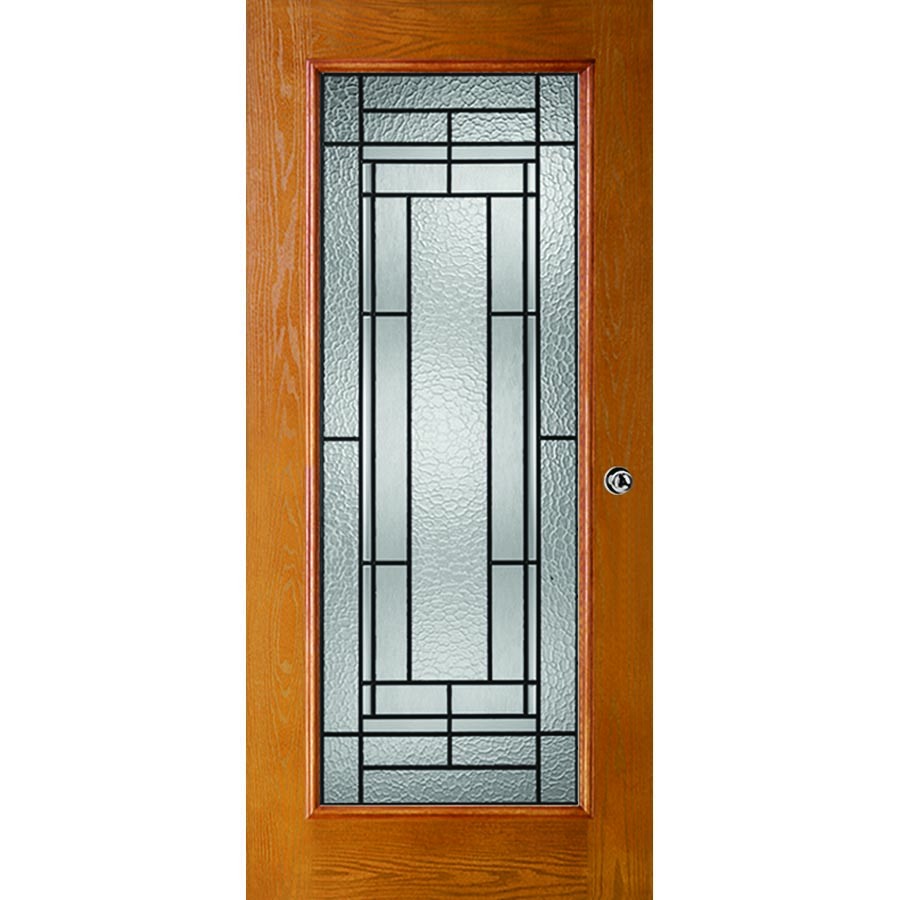 Western Reflections Pembrook Door Glass 24 Quot X 66 Quot Frame