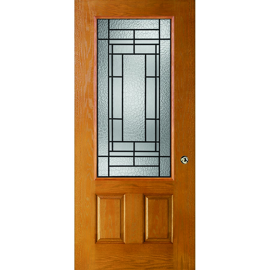Western Reflections Pembrook Door Glass 24 Quot X 50 Quot Frame