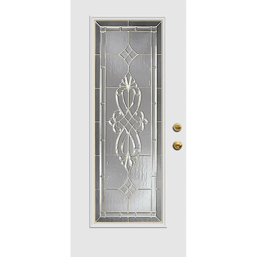 Western reflections windsor door glass 22 x 66 frame for Door frame kit