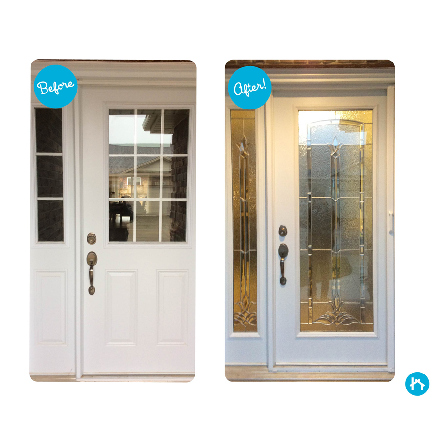 Odl bristol door glass 24 x 66 frame kit zabitat - Odl glass door inserts ...
