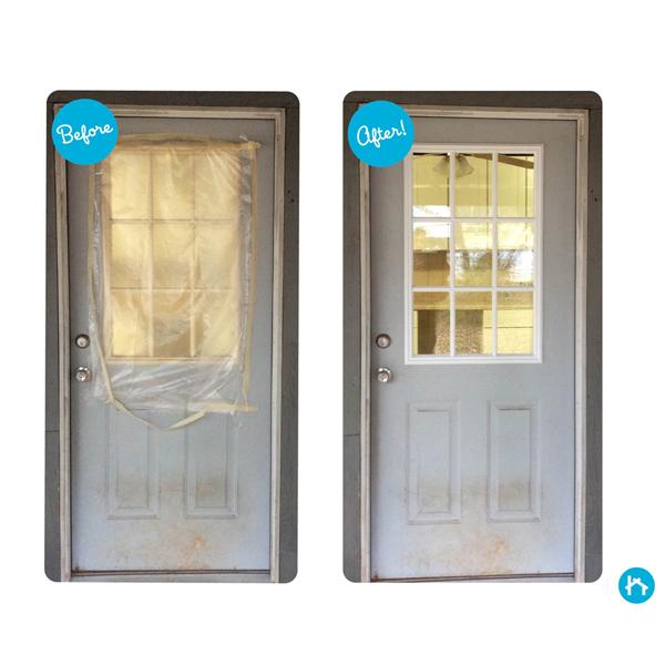 Odl Clear Low E Door Glass 9 Light External Grille 24